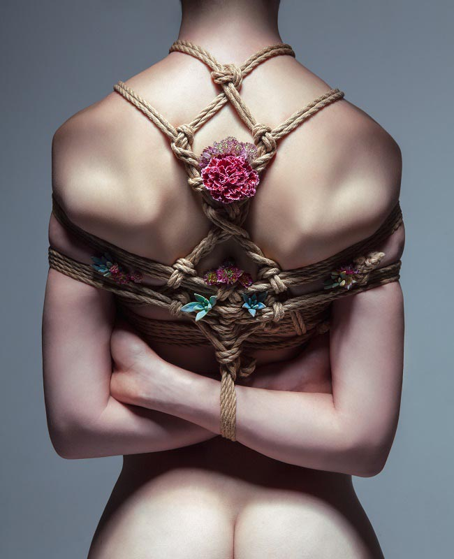 Искусство шибари от Aaron McPolin