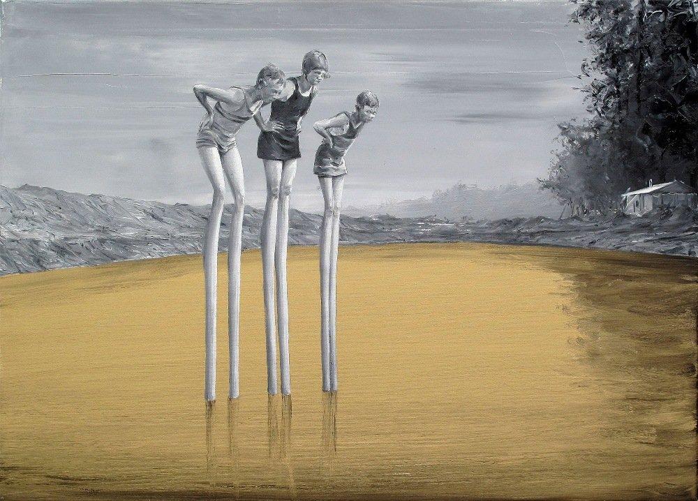 Сюрреалистические картины маслом от Пако Помета