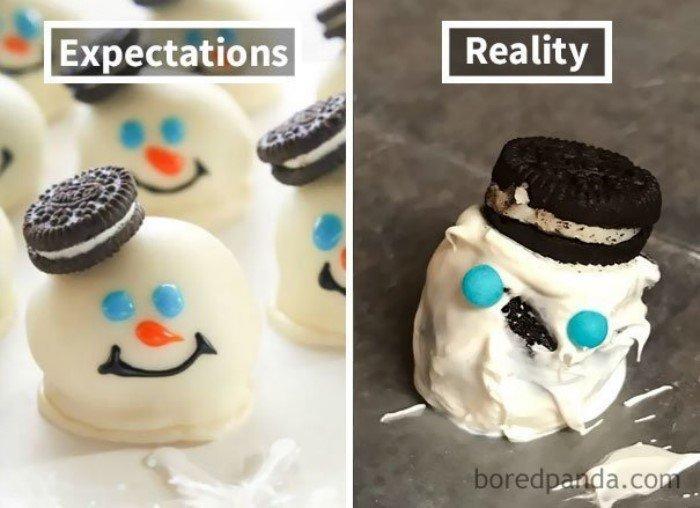 Кулинарные неудачи: ожидание и реальность
