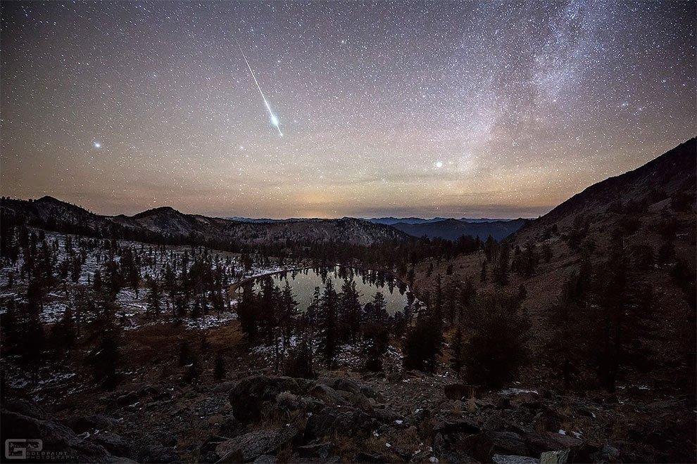 Ночное небо в астрофотографиях Брэда Голдпейнта