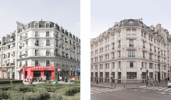 Тиандученг - Париж в Китае