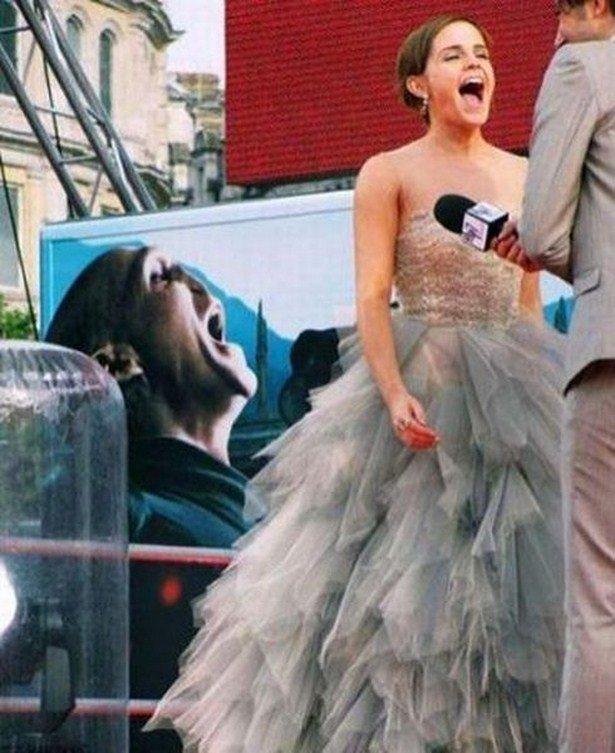Забавные фотографии со знаменитостями
