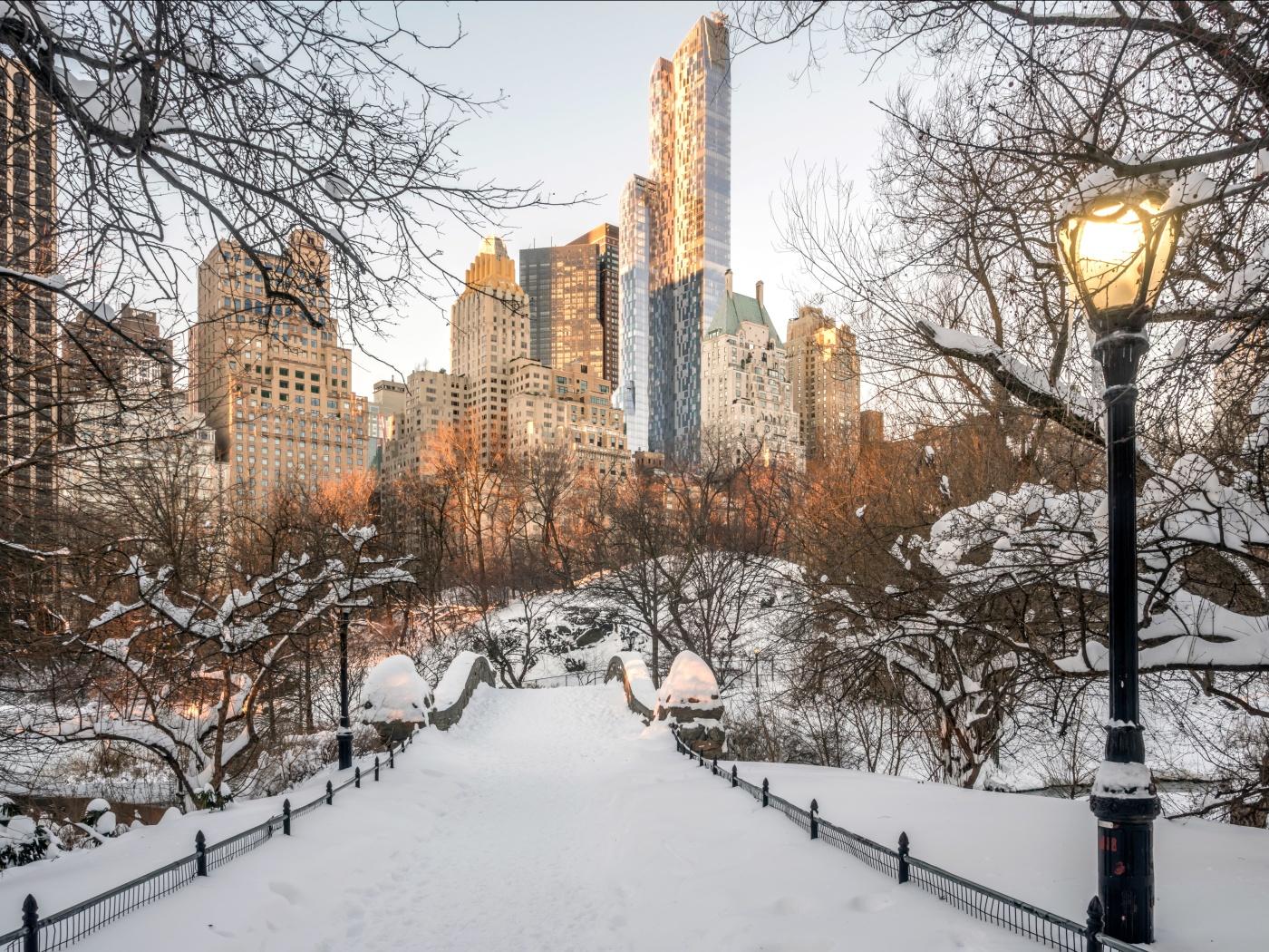 Красоты зимы в разных уголках нашей планеты