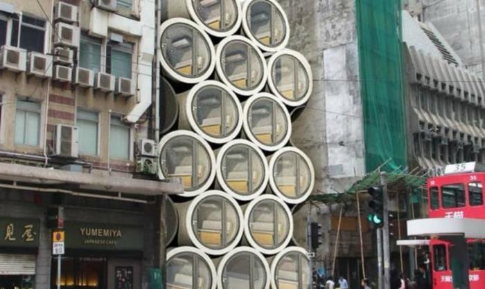 В Китае люди будут жить в водопроводных трубах