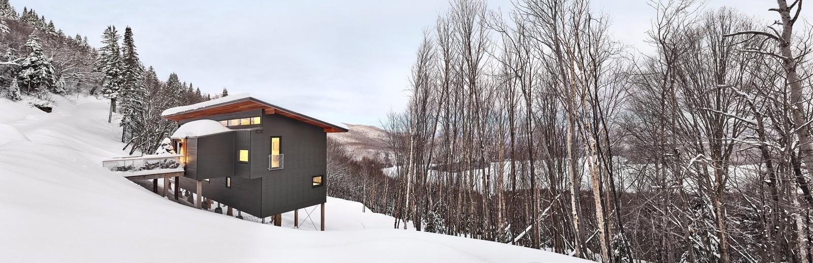 Горное шале в канадской провинции Квебек