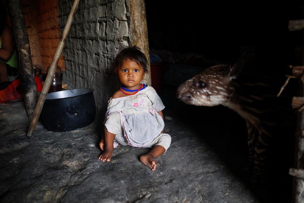 Племена Амазонии в фотопроекте московского фотографа