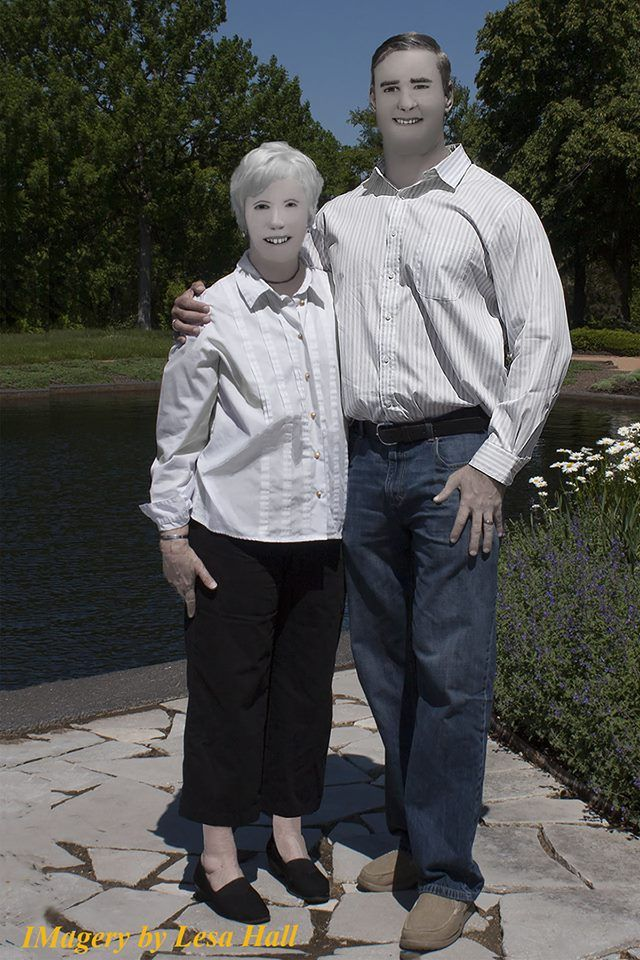 Смешная фотосессия семейной пары от горе-фотографа
