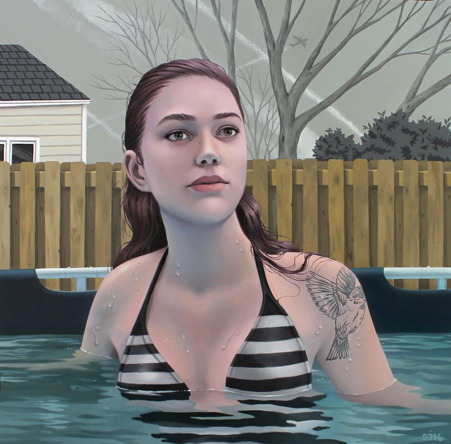 Завораживающие портреты девушек от Сары Джонкас