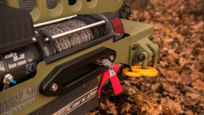 Jeep Wrangler в духе Willys