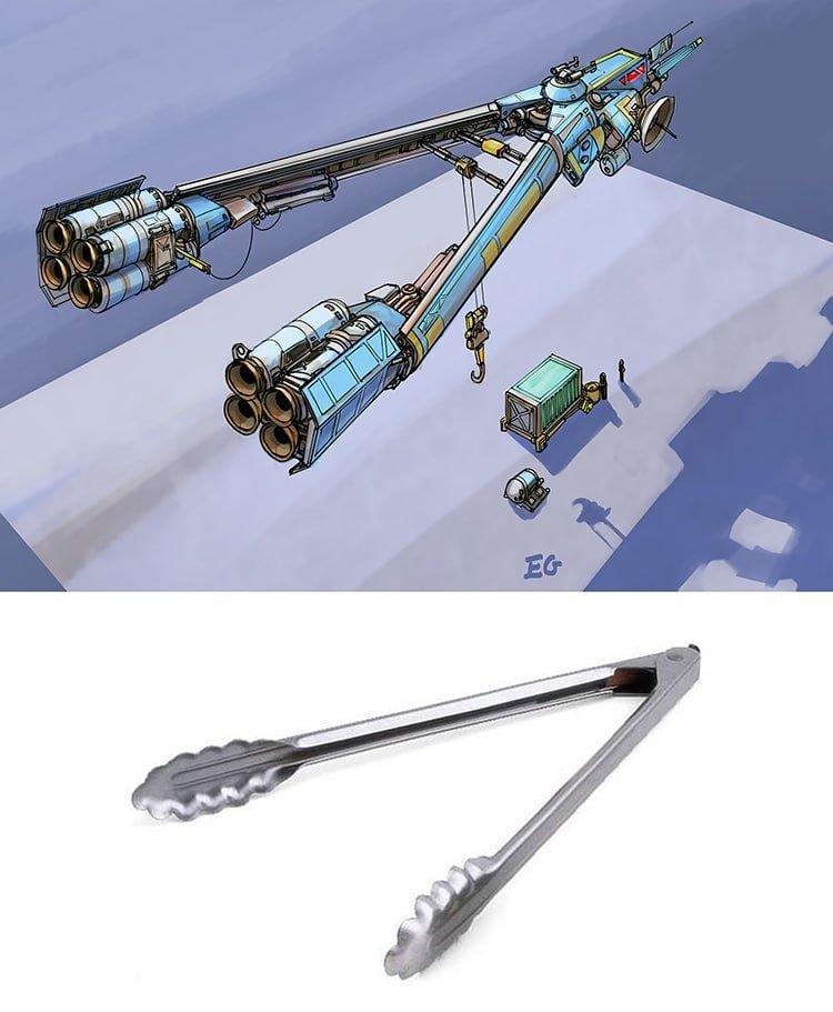Космический флот в форме повседневных предметов