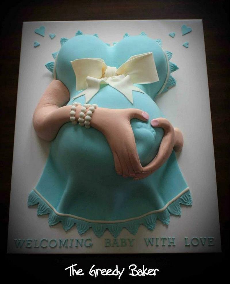 Необычные и страшные торты к рождению ребенка