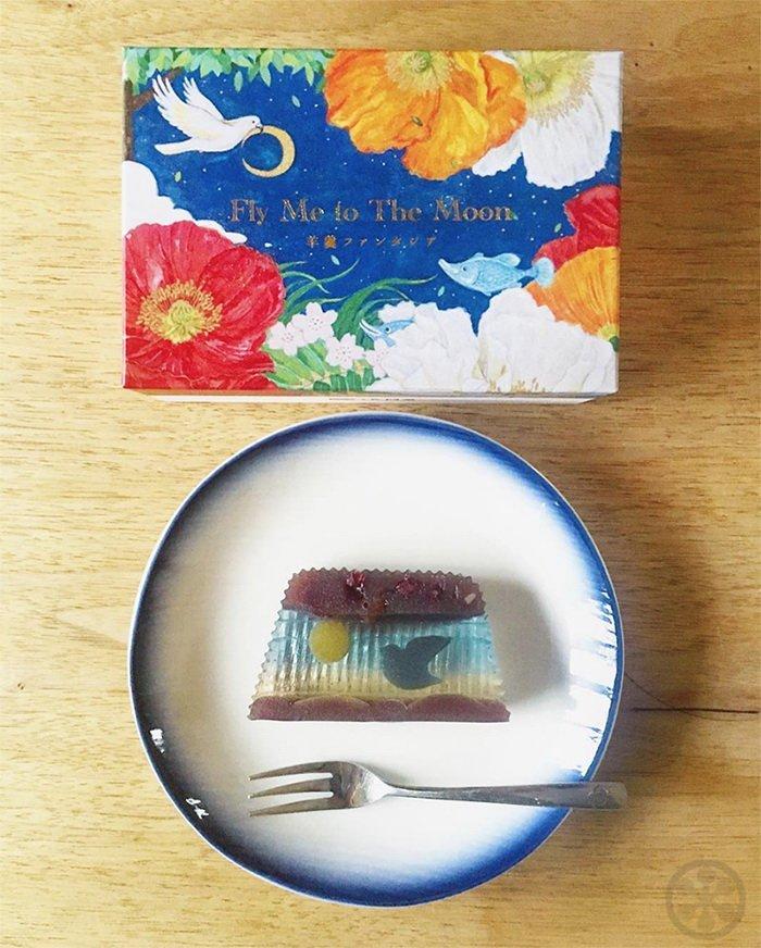 Невероятный японский десерт как произведение искусства