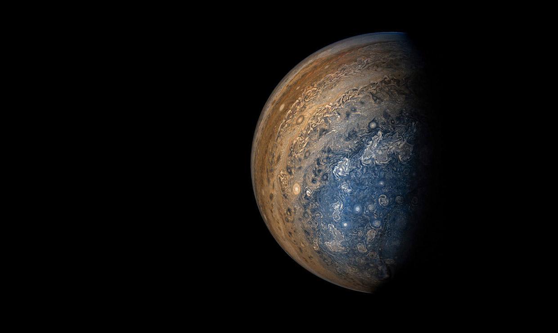 Планета Юпитер в объективе