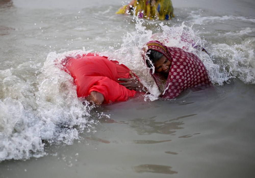 Фестиваль Ганга Сагар в Индии
