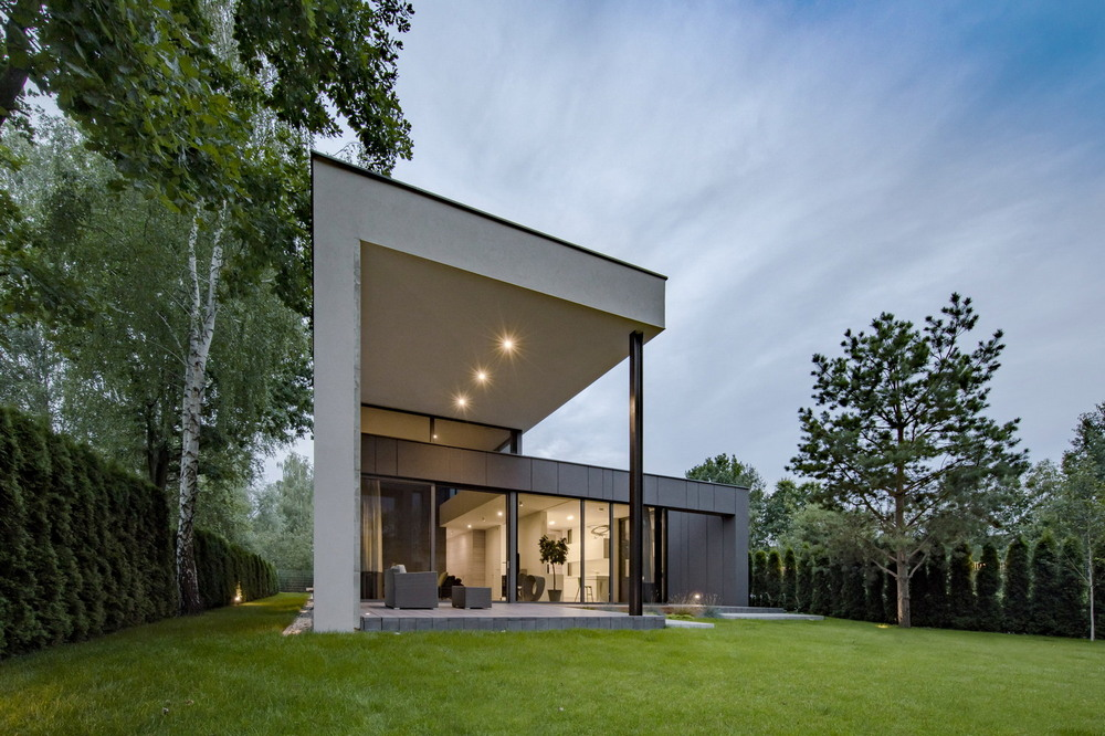 Современный загородный дом в Польше