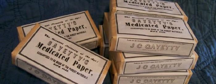 История туалетной бумаги