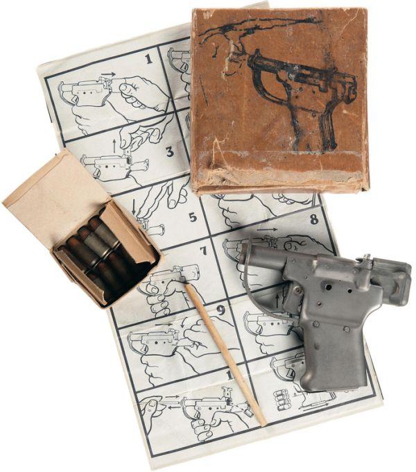 Liberator FP-45 - самый быстрый в изготовлении пистолет в мире