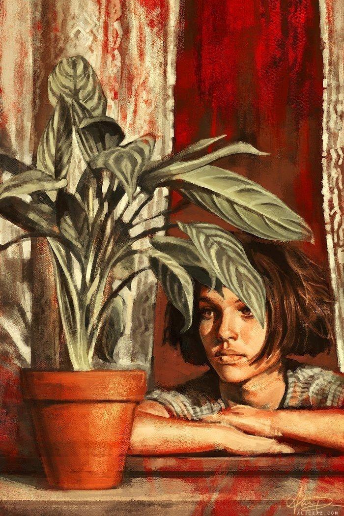 Популярные киногерои на картинах художницы Alice X. Zhang