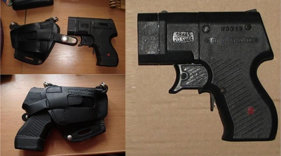 Самые распространенные травматические пистолеты