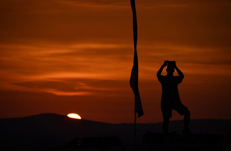 Зрелищное ралли Дакар 2018