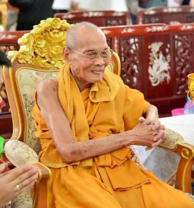 Буддийский монах начал улыбаться после собственной смерти