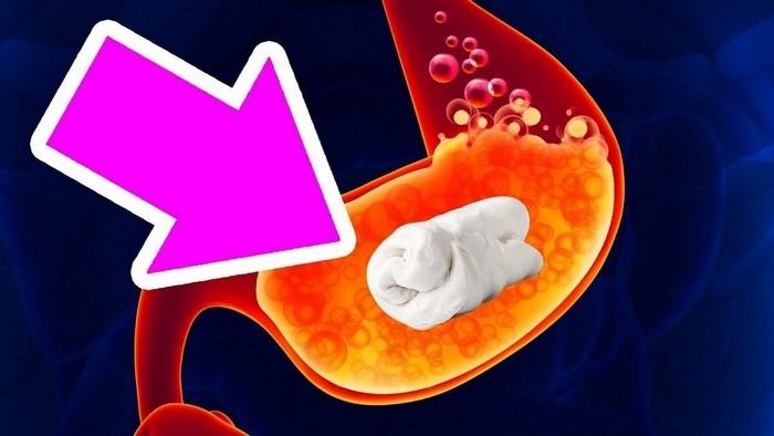 Что произойдёт, если проглотить жевательную резинку?