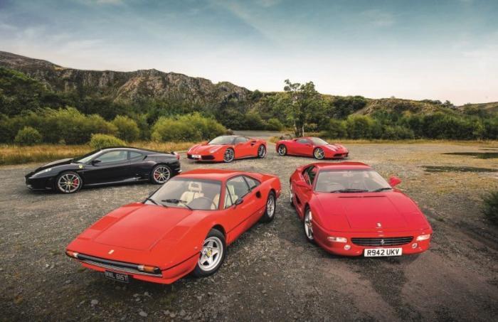 От 458 Italia к 308: лучшие Ferrari с V8