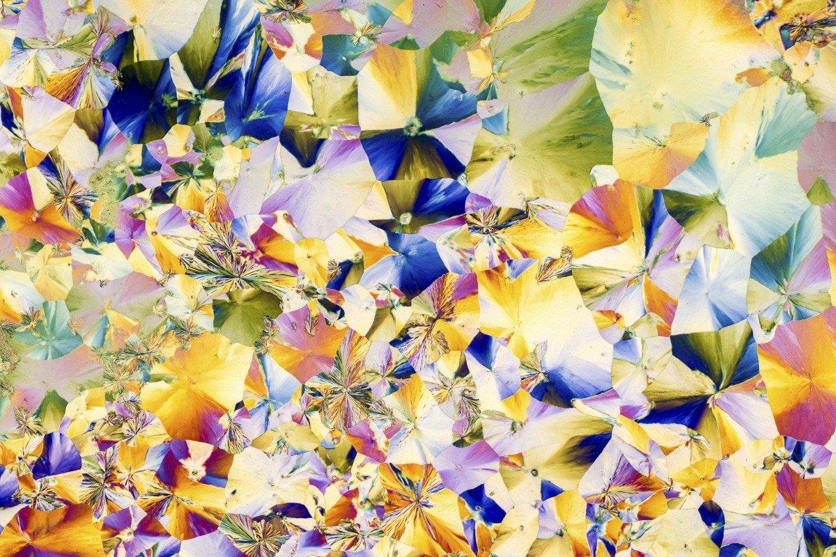 Кристаллизованные вещества как абстрактные картины