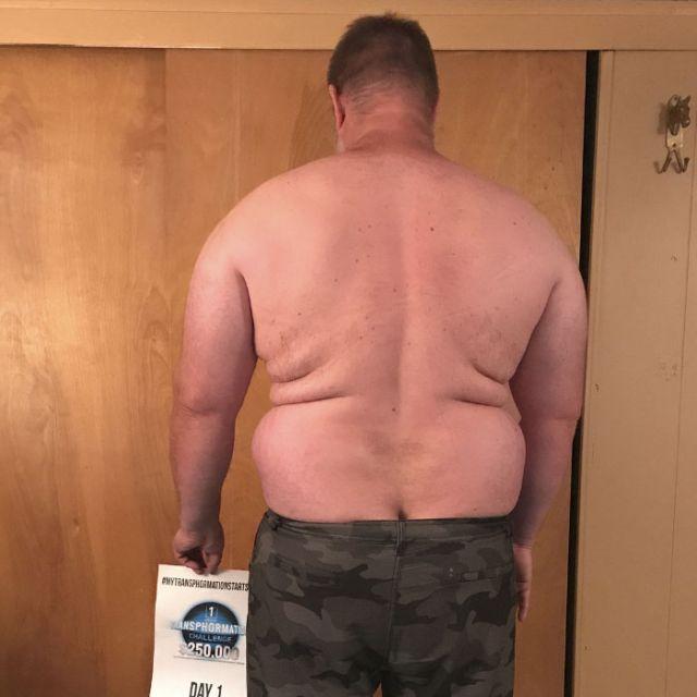 Удивительное преображение 39-летнего мужчины