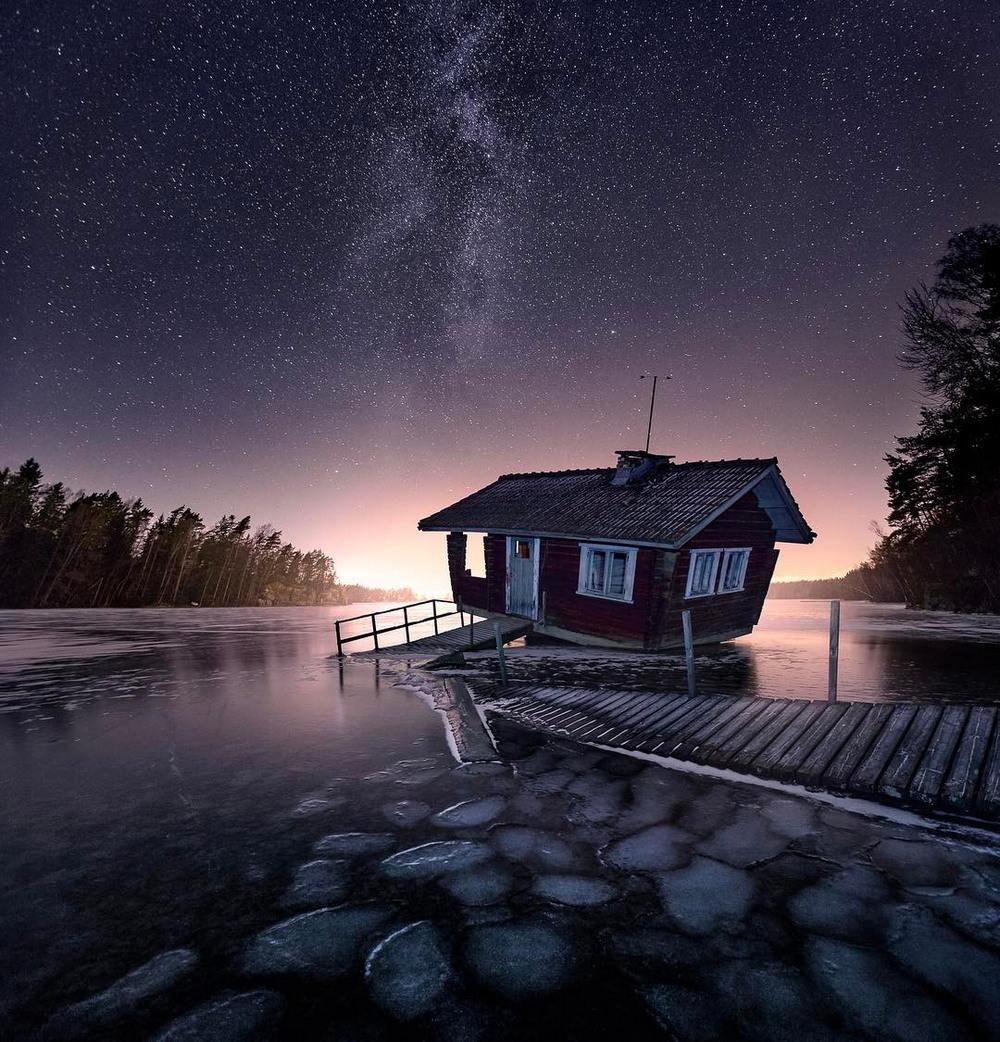 Европейские пейзажи от Janne Kahila