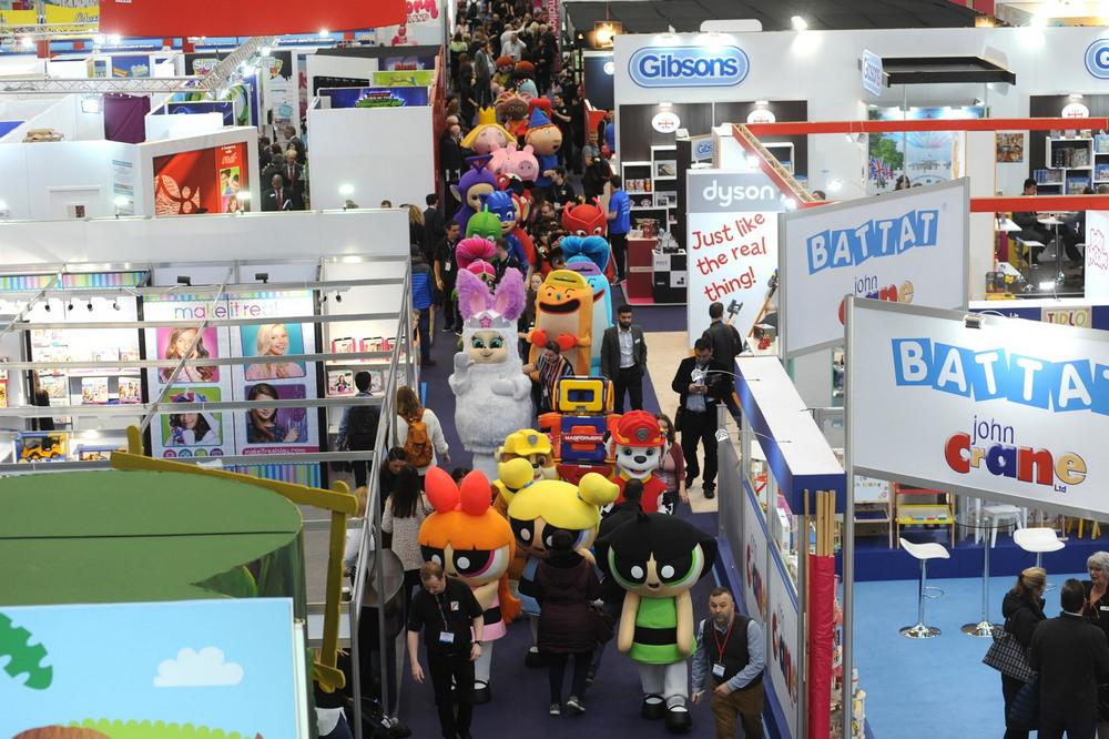 Ежегодная лондонская ярмарка игрушек