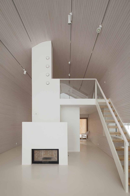 Современный деревянный дом в Финляндии