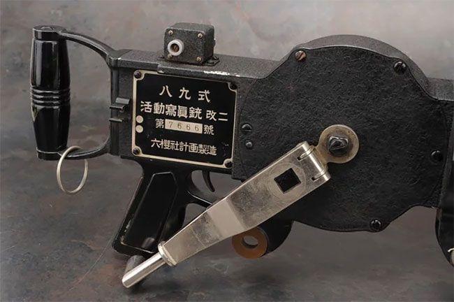 Японский фотопулемет времен Второй мировой войны