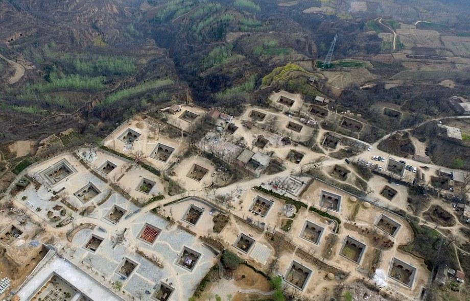 Пещерные жилища в Китае