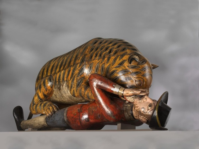 Тигр Типу – деревянная механическая игрушка индийского султана