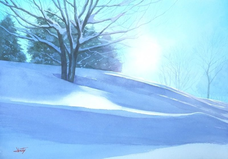Яркие рисунки мастера акварели Абе Тошиюки
