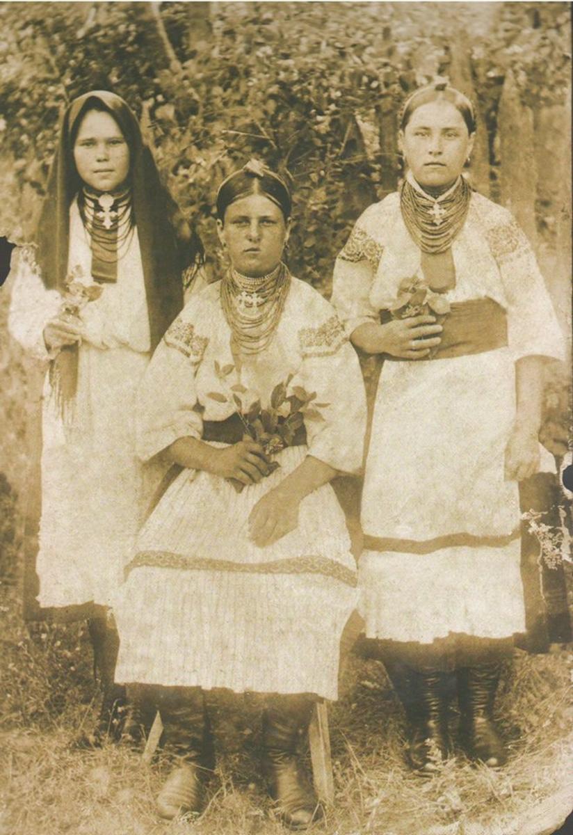 Как выглядели украинки 100 лет тому назад
