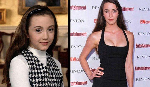 Знаменитые девочки-актрисы тогда и сейчас