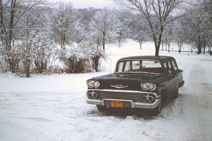 Цветные фотографии Америки 50-х годов