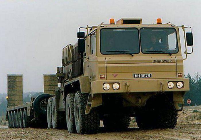 Танковые тягачи разных стран мира