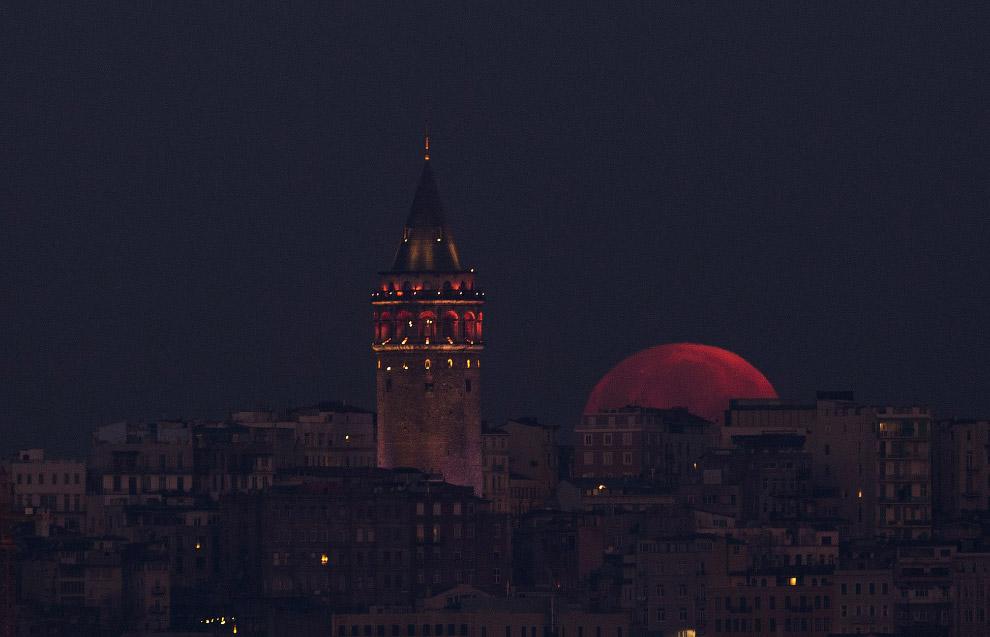Красное Суперлуние 31 января 2018