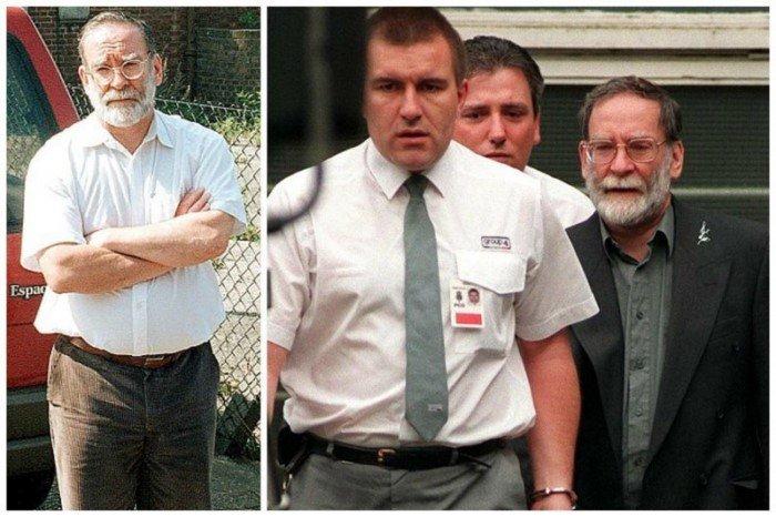 Редкие снимки известных преступников