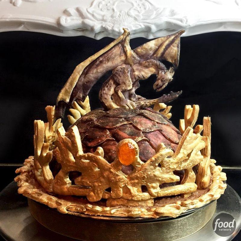 Художественные пироги, которые жалко резать