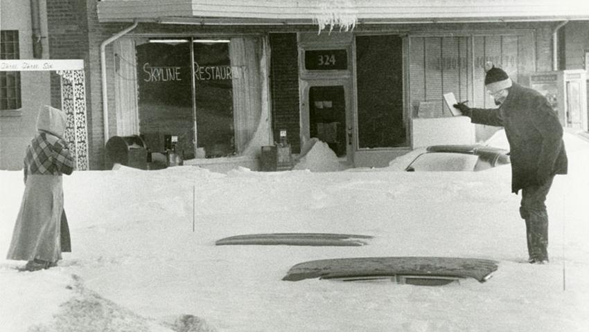 The heaviest snowfall in history