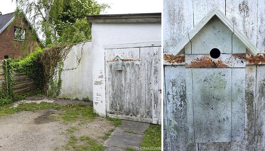 Замаскированные скворечники Томаса Дамбо