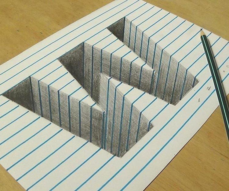 Анаморфные иллюзии от Сандора Вамоса
