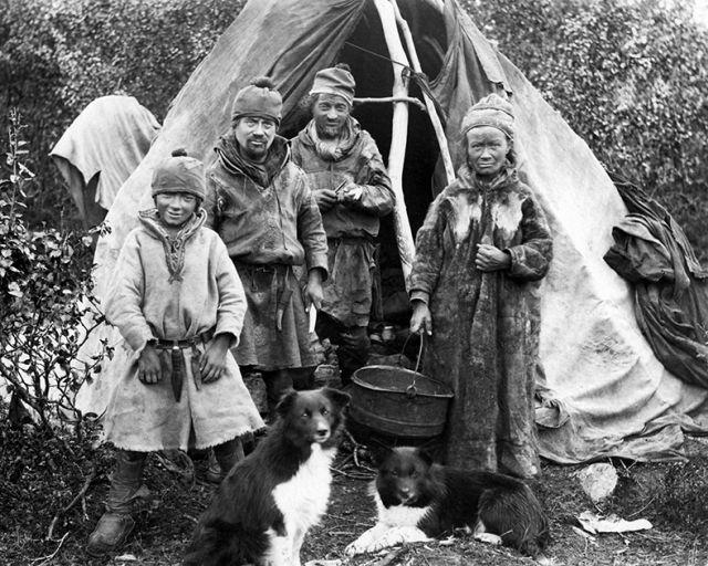 Быт саамов в XIX и XX веке