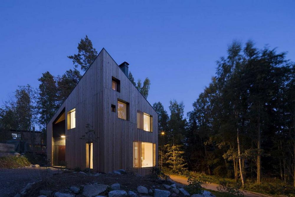 Дом на полуострове недалеко от финской столицы