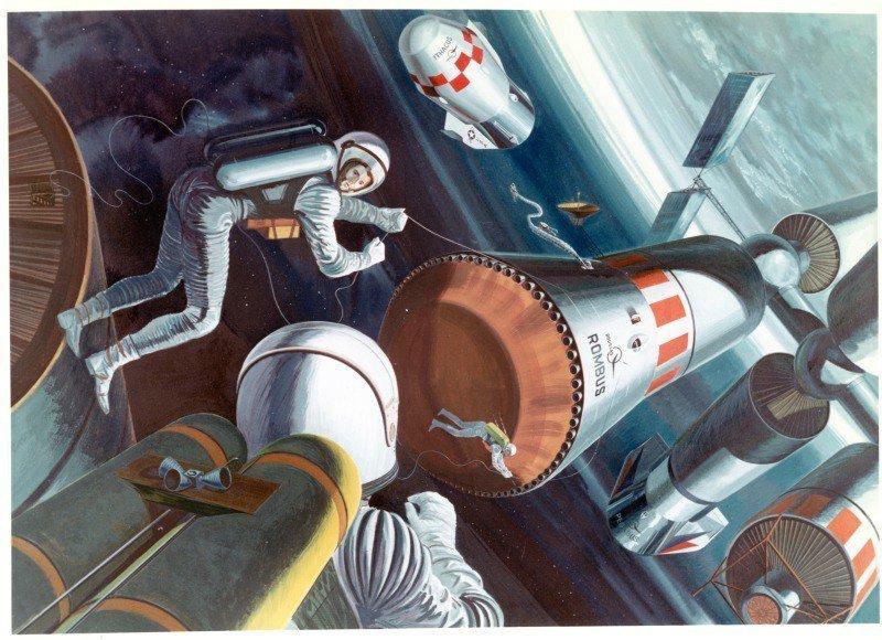 Ретро-футуризм от инженера и художника Филипа Боно