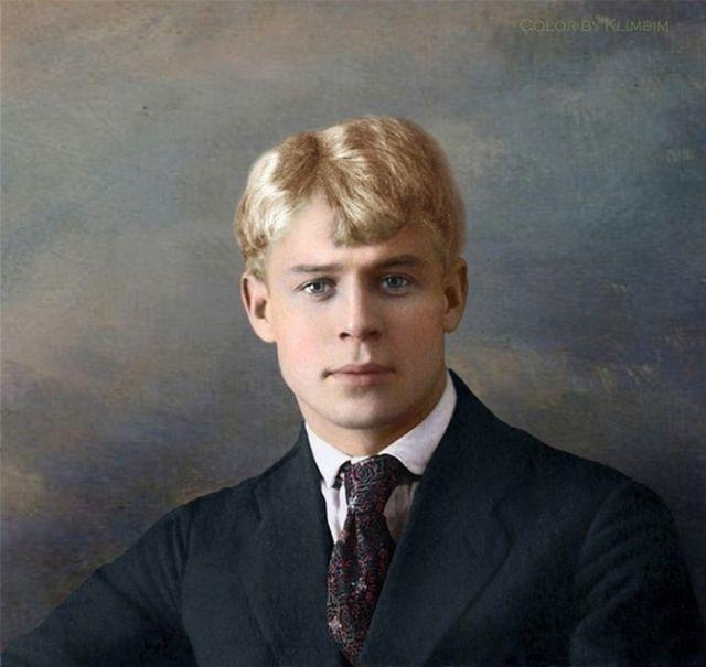 Колоризированные фото русских поэтов и писателей